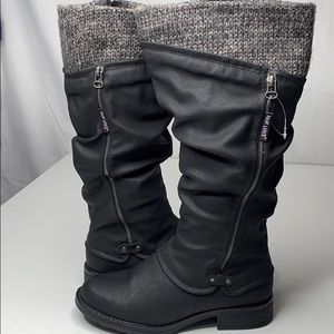 MUK LUKS Water-Resistant Tall Boots size9 NWOT